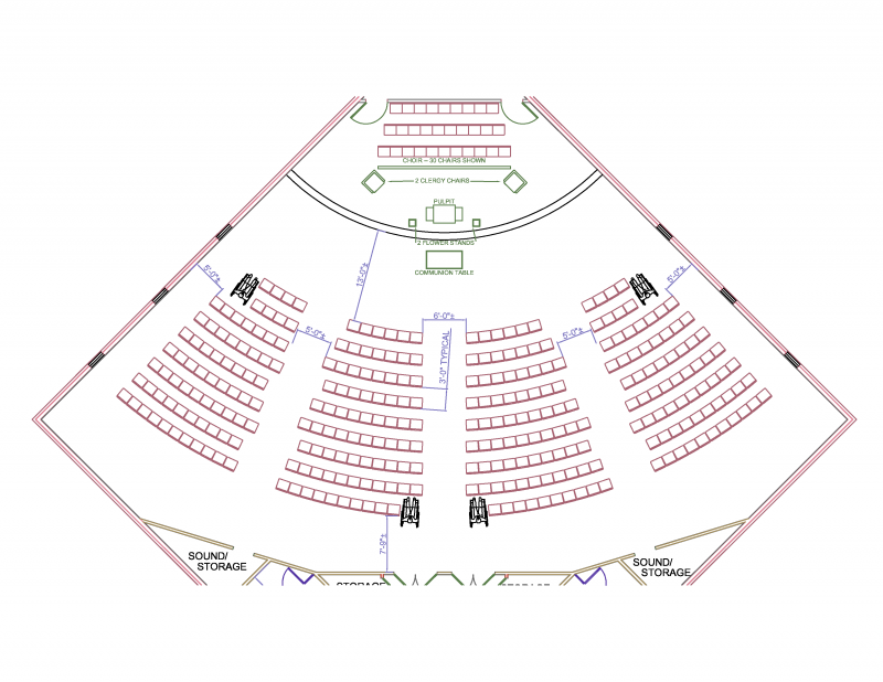 SEATING LAYOUT (CHAIRS)